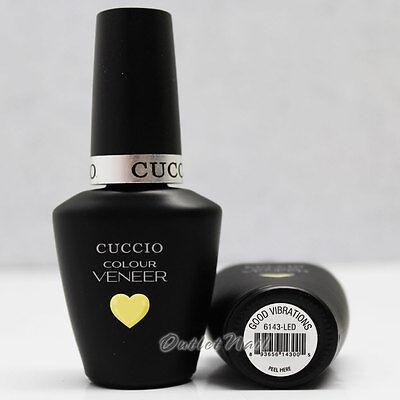 CUCCIO Veneer PART B Soak Off UV LED Gel Nail Colour Polish Lacquer 13 mL/0.43oz