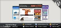 Choose 1 or more Blogs Niche Wordpress Website Clickbank Amazon Adsense
