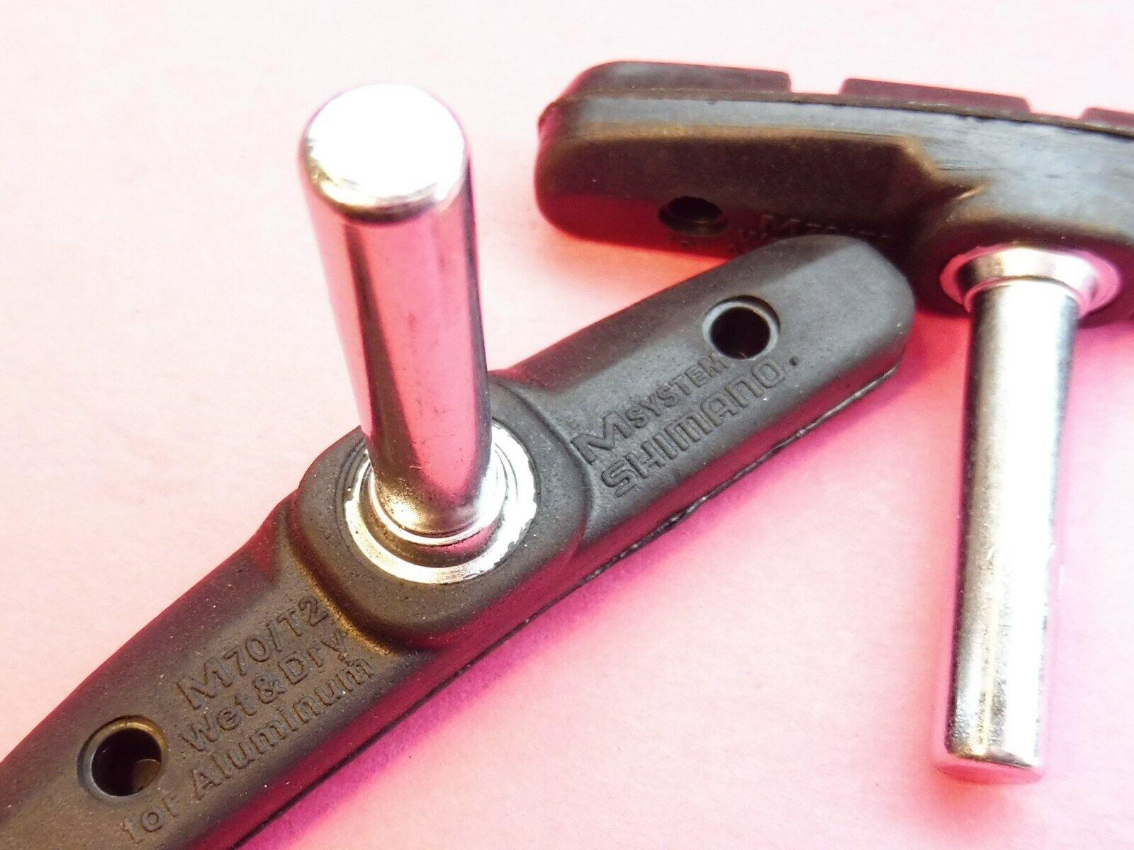 1 set Shimano STX MC40 brake blocks 2pr. 8CF9810 NOS