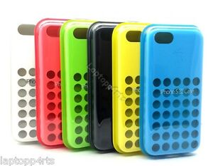 brand new 79f40 1b3a1 Details about 100% Genuine Dot Silicone Case Cover For Apple iPhone 5C NEW  RRP £19.99