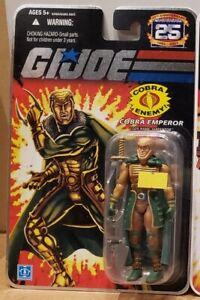 "G.I. Joe 25th Anniversary: Cobra Emperor - Serpentor 3.75"" Figure"