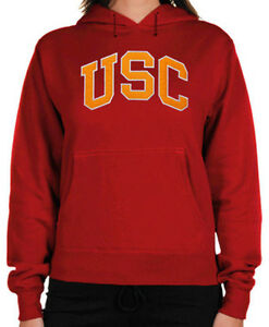 8a09c79f821 Image is loading USC-Trojans-Women-039-s-Basic-Pullover-Hoodie-