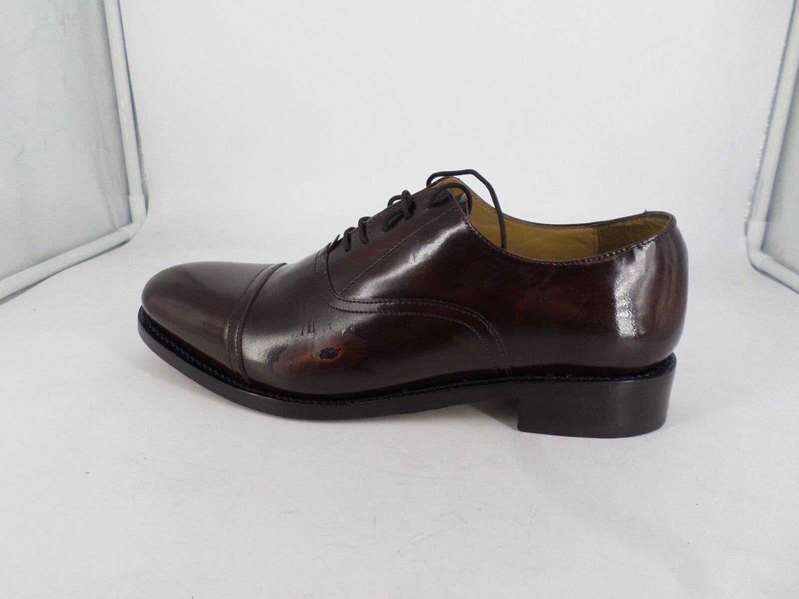 Samuel Windsor Oxford Mens Burgundy Classic Oxford Windsor Shoes LG06 27 1938f7