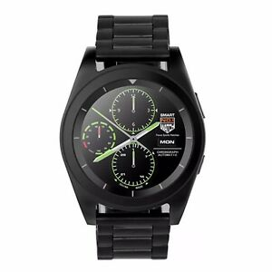 DT-G6-Sports-and-Business-Bluetooth-Smartwatch-with-Metal-Strap-Black
