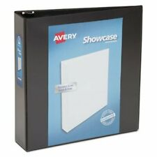 Avery Showcase Reference View Binder 2 Capacity Black Ave19700