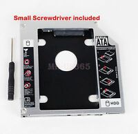 2nd Hard Drive Hdd Caddy For Hp Elitebook 8440w 8540w Swap Bc-5541h Ad-7561s Dvd