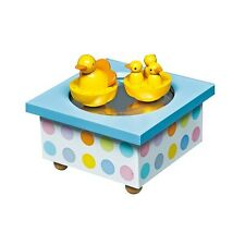 Trousselier Spinning Duck Mechanical Musical/ Music Box Children's Toy