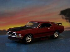 1969 FORD MUSTANG MACH 1 SUPER COBRA JET 1/64 SCALE COLLECTIBLE DIORAMA MODEL