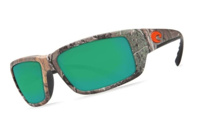 b943a8e28e Costa Del Mar Fantail Sunglasses Realtree Xtra Camo Green Mirror 580 Glass  Lens