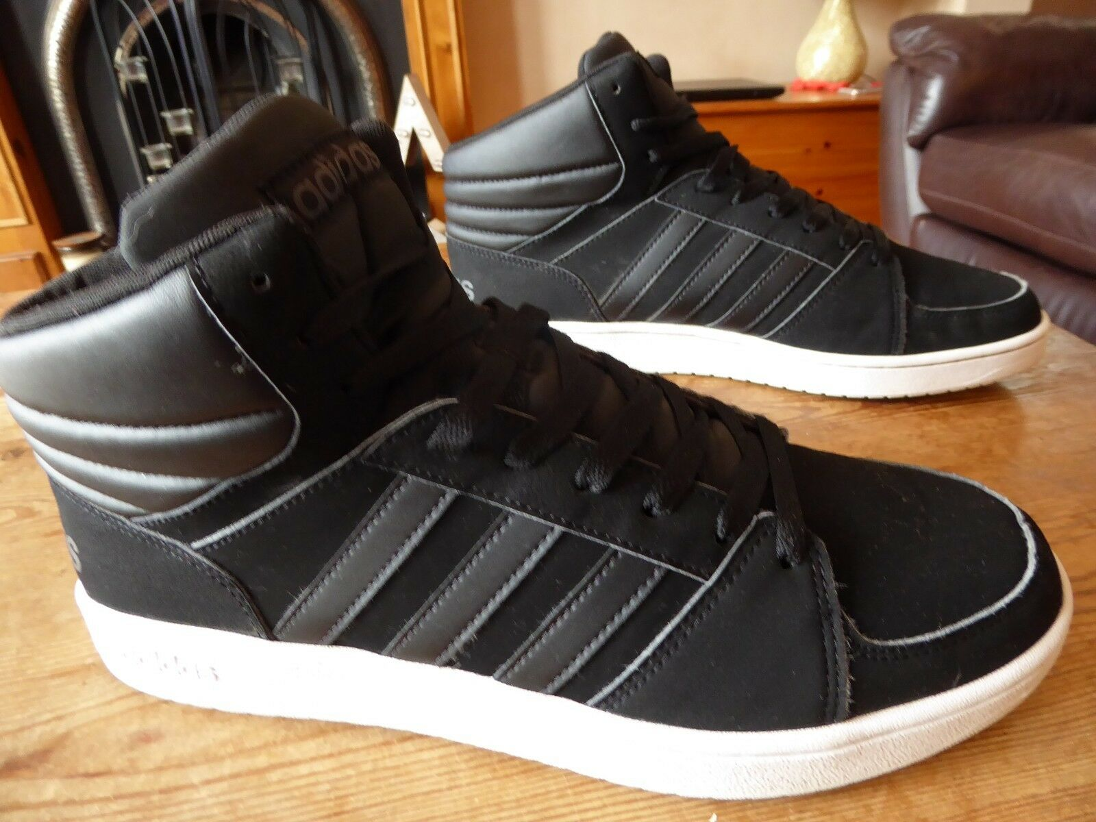 Mens adidas VS hoops mid - size uk 11 ( 2017 ) great condition