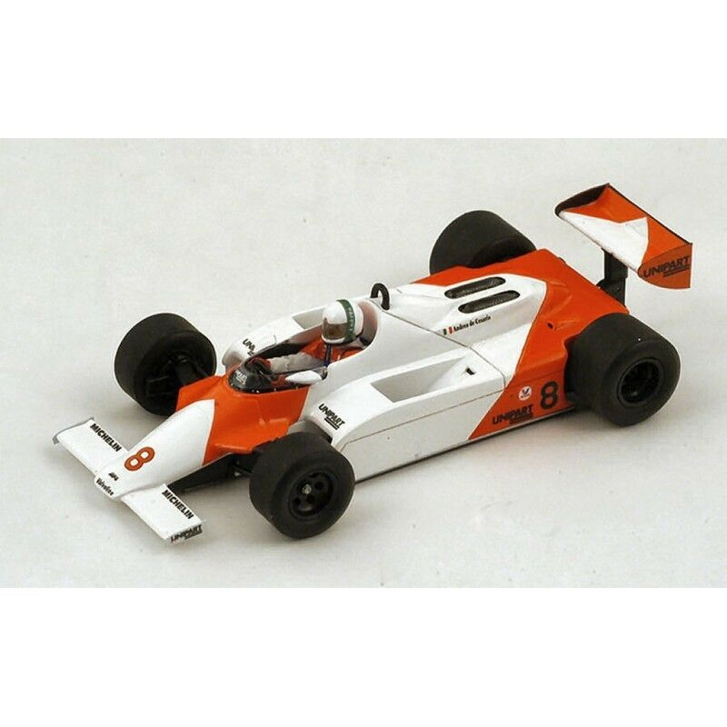 Spark model S4301 mc laren MP4-1 a. de cesaris 1981 accident monaco gp 1 43 modèle