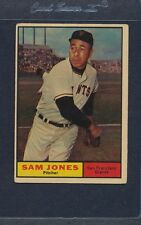 1961 Topps #555 Sam Jones Giants VG *2743