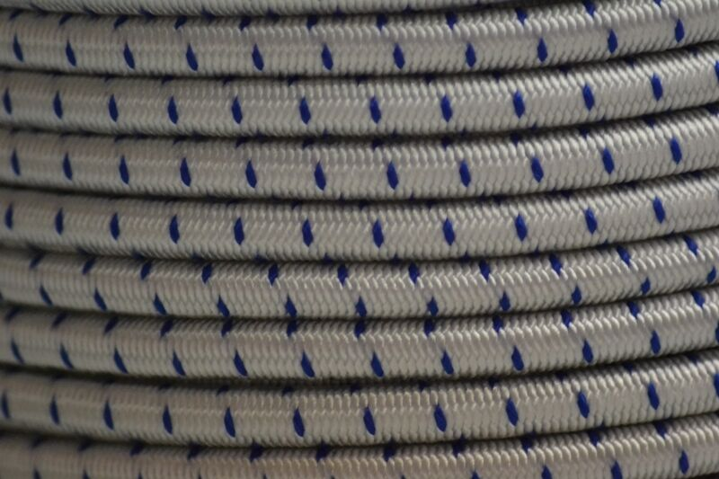 Élastique 8mm 8mm 8mm choc cordon élastique /, disponible en 8 coloris et diverses longueurs ff5731