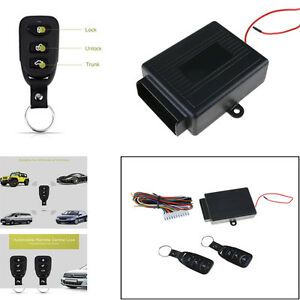Door-Remote-Control-Car-Central-Lock-Locking-Security-System-Keyless-Entry-Kit
