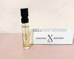 XERJOFF-17-17-HOMME-vial-Parfum-Spray-2ml-muestras-perfume-Nuevo-En-Caja
