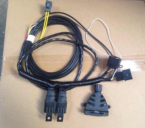 unt263 towbar trailer wiring harness loom for mitsubishi triton 2006 rh ebay com au