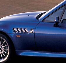 BMW Z3 Side Grill Fender Emblem 78 mm Logo Badge Roundel 51141970248