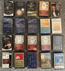Cassette Tapes Bundle Job lot  Mainly Classical x 20 No.10