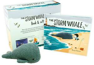 The-Storm-Whale-Hardback-Book-amp-Soft-Toy-Childrens-Gift-Box-Pack-New