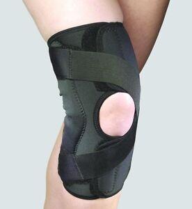 Truform-Tru2540-OTC-Orthotex-Knee-Stabilzer-Wrap-for-OA-Black