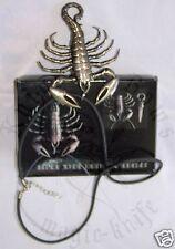 Scorpion Neck Knife Halskette Anhänger Messer + Kautschukband Neck Knife