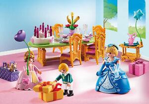 Playmobil Princesse Salle A Manger Pour Anniversaire Princier 6854