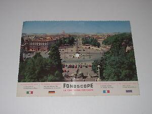 7-034-Schallbildkarte-VOCCA-ROSSA-CORRADO-LOJACONO-ROMA-Fonoscope-B-88