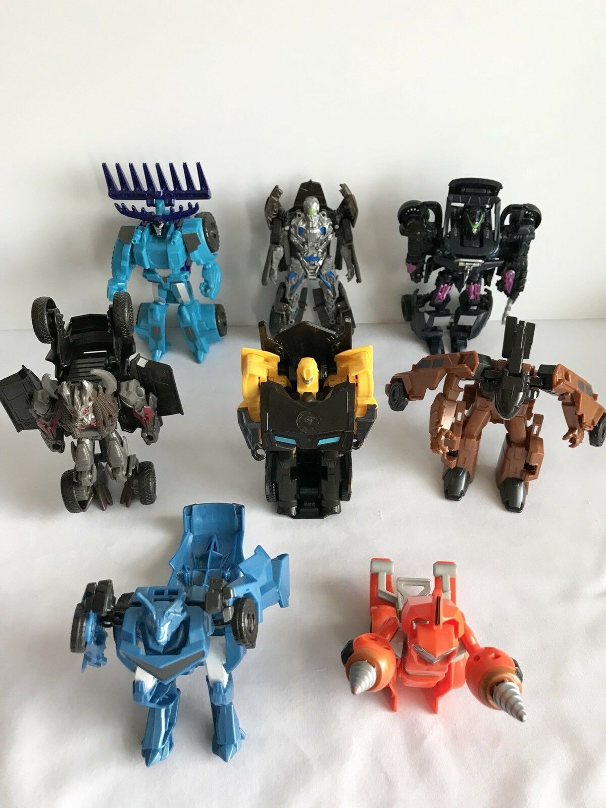Lot de 8 Transformers Age Of Extinction One Step