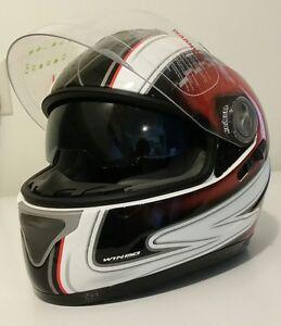 PGR motorcycle helmet size M