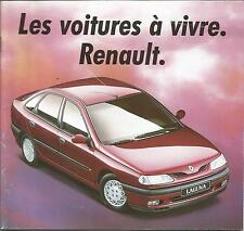 RARE Catalogue brochure  Prospekt RENAULT GAMME ANNEE1994 47 Pages