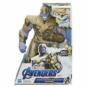 Details about  /Set Of Two Power Punch Thanos And Hulk Avengers End Game Punch Action Figure Toy