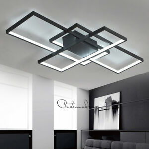 Details About Best Ing Modern Style Acrylic Led Ceiling Light Square Living Room Lighting