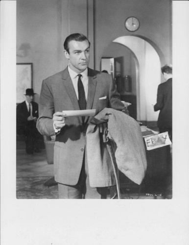 ! Sean Connery F R W L VINTAGE Photo