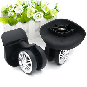 2d0cd20d1537 Details about Replacement Luggage Swivel Wheel Suitcase 360 Spinner Repair  Spare Wheels W074