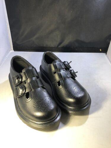 Dm401 Size 3Uk2 Dr Martens Kids 8065 Mary Janes Black #22268001