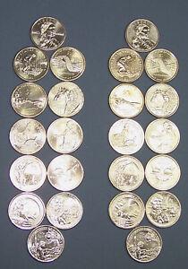 12 Uncirculated Coins 2009-2020-D Native American Sacagawea Dollar Set