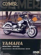 CLYMER SERVICE MANUAL YAMAHA ROAD STAR XV1600A & XV1700A 1999-2007 07 06 05 04