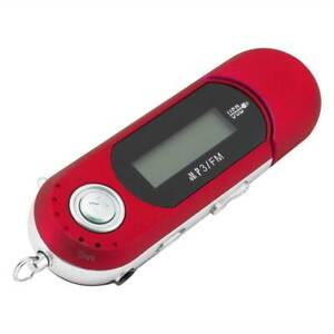 Rojo-Musica-Portatil-MP3-Reproductor-Usb-Digital-Lcd-Pantalla-Soporte-32GB-TF-Radio-FM