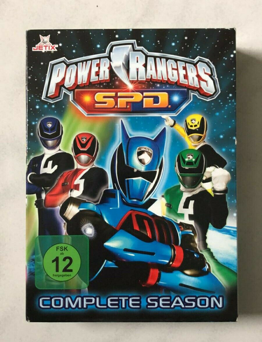 Importieren DVD Box   Power Rangers S.P.D.   die komplette Staffel ...