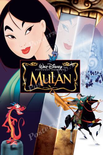 Posters USA Disney Classics Mulan Poster Glossy Finish DISN107