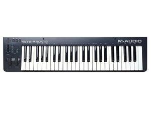 m audio keystation 49 ii midi keyboard controller 49 key ebay. Black Bedroom Furniture Sets. Home Design Ideas