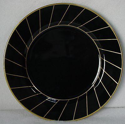 "FITZ & FLOYD china HARLOW pattern Salad or Dessert Plate @ 7-1/2"""