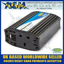 RING RINVU150 12v 150W Invertor 230v AC power for Laptops TVs Power Tools + USB