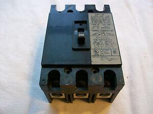 EATON CUTLER HAMMER CC CC3200  3 POLE 240V 200 AMP