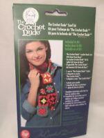 Crochet Dude Scarf Pattern, Hook Label & Yarn Needle
