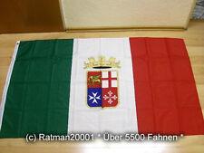 Fahnen Flagge Italien Marineflagge - 90 x 150 cm