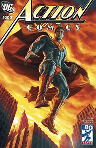 ACTION COMICS #1000 2000'S BERMEJO VARIANT DC COMICS SUPERMAN MILESTONE