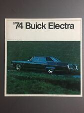 1974 Buick Electra Showroom Advertising Sales Folder / Brochure RARE!! Awesome