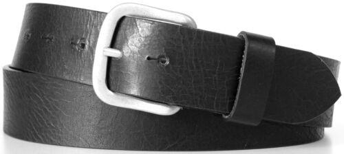 kürzbar Vollleder Gürtel Herrengürtel Ledergürtel in 3 Farben 4 cm breit