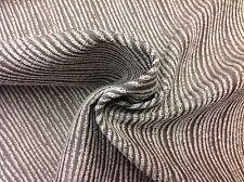 Lee Jofa Threads Chenille Striped Upholstery Fabric- Urbane/Cream Hemp 1.75 yd